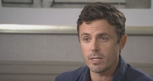 Casey Affleck in an interview with the Associated Press. Photograph: AP/YouTube