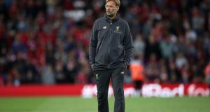 Liverpool manager Jurgen Klopp will hope to build on the promise of his first full season in charge. Photograph: PA
