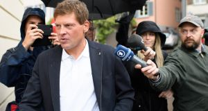 File image of Jan Ullrich in Weinfelden, Switzerland. File photograph: Gian Ehrenzeller/EPA