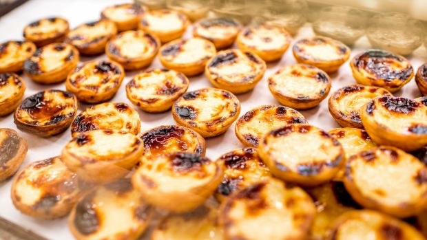 Pasteis de nata is a custard-filled pastry which the monks used to make with leftover egg yolks.