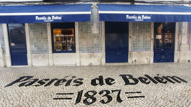 Pasteis de Belem is a bakery beside the monastery which traces its origins back to the 1800s when monks began selling their pastries there.