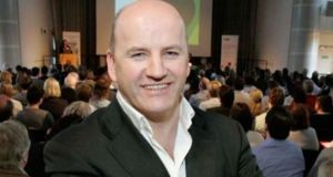 Seán Gallagher, recently appointed president of Nutriband
