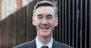 Leading Tory Eurosceptic Jacob Rees-Mogg. File photograph: Victoria Jones/PA