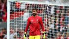 Alisson Becker is expected to start the season in the Liverpool goal. Photograph: Jan Kruger/Getty Images