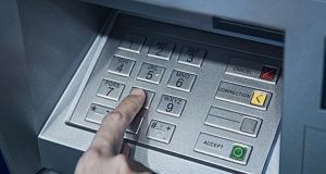 ATM skimming devices were used in Kildare and Blanchardstown earlier this week. File photograph: Getty Images