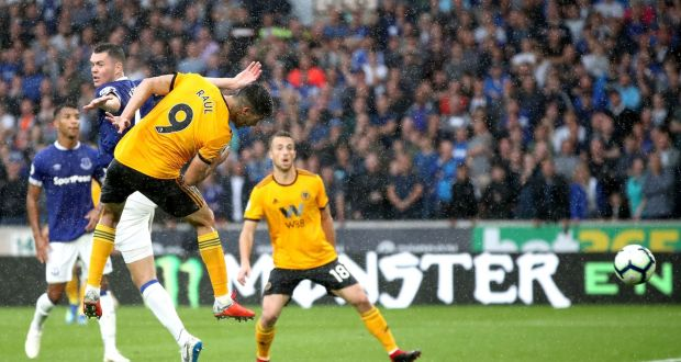 huge discount a71cc 507a8 Richarlison doubles up before Jimenez rescues point for Wolves