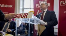 Leader of the Labour Party Brendan Howlin. Photograph: Brenda Fitzsimons / THE IRISH TIMES