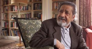 October 2001: VS Naipaul, who was born of Indian ancestry in Trinidad, went to Oxford University on a scholarship and lived the rest of his life in England. As a novelist he exempted neither coloniser nor colonised from his scrutiny. Photograph: Chris Ison/PA Wire