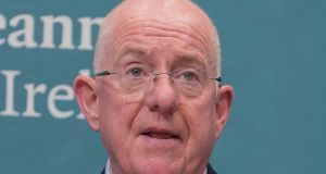 "Minister for Justice Charlie Flanagan: unhappy with how poor box system is being administered and believes it has ""no longer a fit place in justice administration"". Photograph: Gareth Chaney Collins"