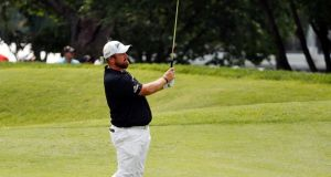 Shane Lowry bemoaned the decision of a rules official after the final round of the US PGA Championship at Bellerive. Photo: Brynn Anderson/AP Photo
