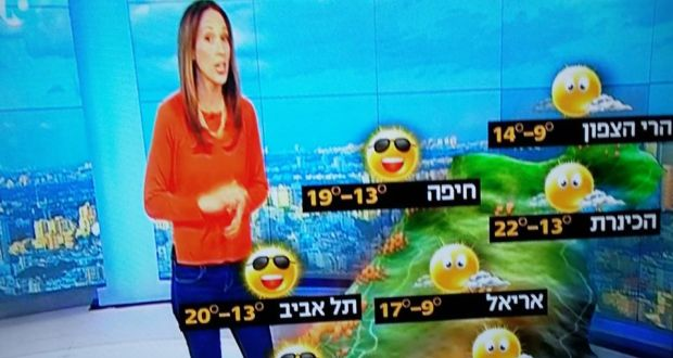The politics of weather maps in Israel and Northern Ireland