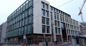 Barclays Bank Ireland recently moved into its new headquarters at One Molesworth Street. Photograph: Bryan Meade