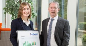 Eastway Remote Monitoring directors Elaine and Bernard Berkery. The company has begun to look at opportunities in Singapore.