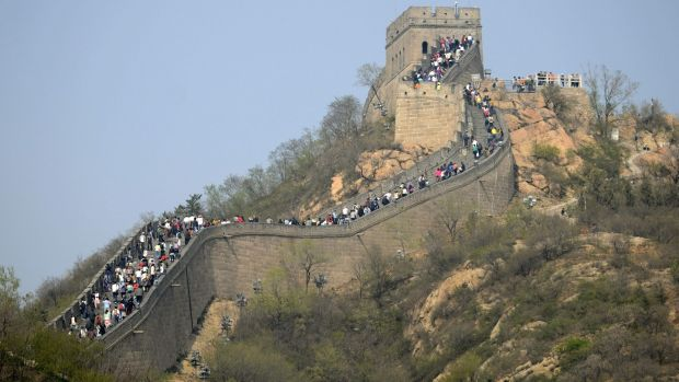 Airbnb hits the wall: The Californian company's cancelled Great Wall of China contest must have seemed like a great idea on paper. Photograph: Wang Zhao/AFP