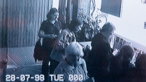 The last known image from CCTV in Newbridge of missing Deirdre Jacob. Photograph: Colin Keegan/ Collins Dublin