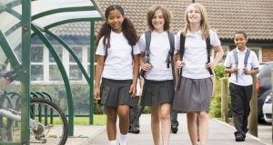 Starting a new school can be both an exciting and anxious time. Photograph: iStock