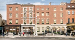 A computer-generated image of what the adjoining premises on Dawson Street owned by the Royal Irish Automobile Club and Tetrarch Capital would look like if the proposed €35m redevelopment goes ahead