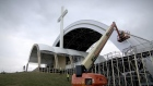 Vast effort prepares Phoenix Park for papal Mass