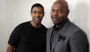 Actor Denzel Washington and  director Antoine Fuqua. The Equalizer 2 marks their   fourth collaboration