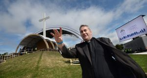 Fr Damien McNeice, will be MC at Phoenix Park for the World Meeting of Families closing Mass with Pope Francis on Sunday, August 26th. Photograph: Dara MacDonaill/ The Irish Times