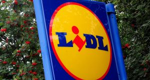 Lidl: being encouraged by some local authorities to pursue more mixed-use developments to maximise site usage. Photograph:  Rui Vieira/PA