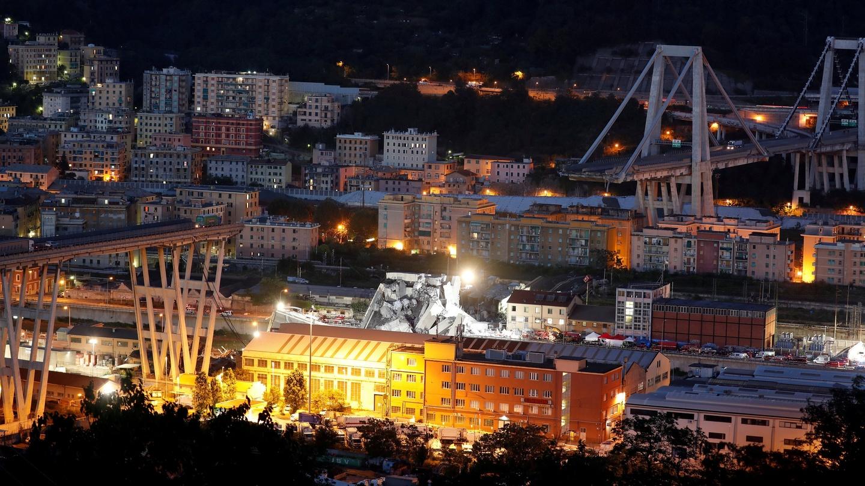 Genoa bridge collapse kills at least 35 as search for survivors genoa bridge collapse kills at least 35 as search for survivors continues fandeluxe Images