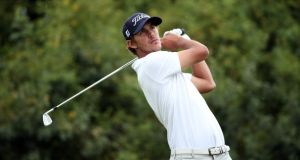 A young Brooks Koepka during the English Challenge in 2012. Photograph: Andrew Redington/Getty Images