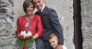 Victims of the bridge collapse, Roberto Robbiano, Ersilia Piccinino, and their son, Samuele. Photograph: Facebook