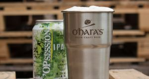 O'Hara's introduced a reusable steel cup at a recent festival.
