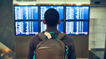 'Our flight was cancelled without warning a few moments before boarding was due to start.' Photograph: iStock
