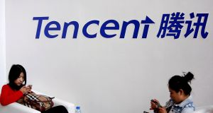 Disappointing Tencent earnings added to pressures across markets. Photograph: Reuters