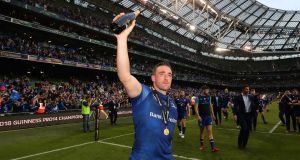 "Leinster's Jack Conan: ""I think we have the squad, the depth and the talent."" Photograph: Billy Stickland/Inpho"
