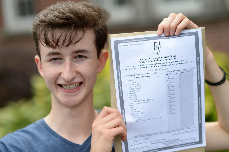 Leaving Cert Students Celebrate Results