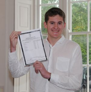FOLLOW THAT: Lorcan Mulkerrin, who took the Leaving Cert at Yeats College, Galway, achieved 8 H1s.