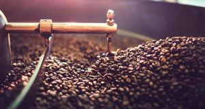 Coffee, anyone? After the process to decaffinate the beans it's time for a good roasting.