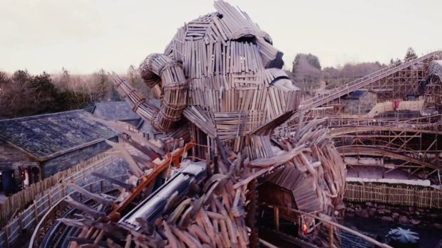 Come shriek with me: Wicker Man, Alton Towers' new rollercoaster