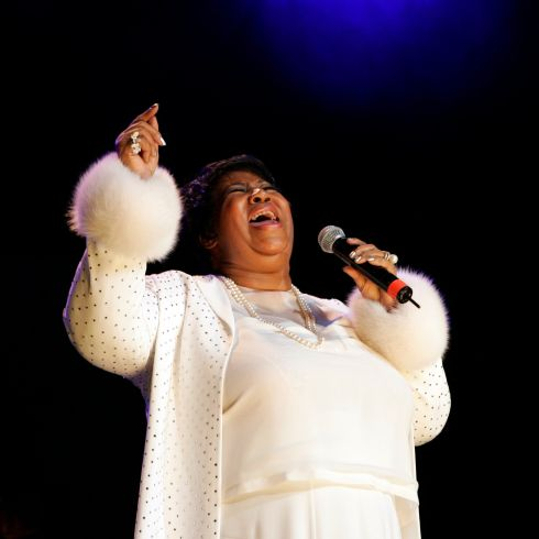 Aretha Franklin performs at Madison Square Garden in New York on June 6th, 2005. Photograph: Richard Termine/The New York Times