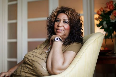 Aretha Franklin poses for a portrait in Philadelphia on July 26th, 2010. Photograph: AP Photo/Matt Rourke