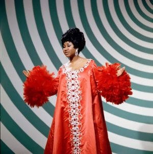 Aretha Franklin performs on an episode of 'The Andy Williams Show' aired in 1969. Photograph: Fred A Sabine/NBC/NBCU Photo Bank via Getty Images