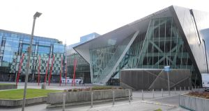 "The Bord Gáis Energy Theatre experienced ""some power issues"" that disrupted its schedule on Wednesday. Photograph: Aidan Crawley"