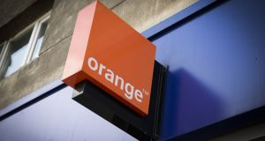 Orange said in its  financial report for the first half of 2017 that it had set aside €346m  in an escrow account to cover the cost of its dispute with Digicel.  Photograph: Getty Images