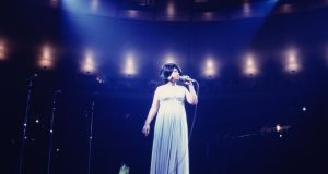Aretha Franklin performs during a concert at Madison Square Garden on June 28th, 1968, in New York City. Photograph: Walter Iooss jnr/Getty Images
