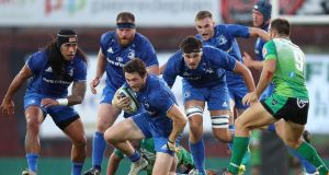 Leinster's Barry Daly in action during the victory over US Montauban  at the Stade Sapiac last week. Photograph: Billy Stickland/Inpho