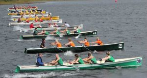 Coastal rowing is a very popular sport in pockets around Ireland. Photograph:  Irish Coastal Rowing