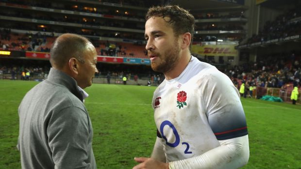 Danny Cipriani was recalled to the England squad by Eddie Jones for the summer tour of South Africa. Photograph: David Rogers/Getty