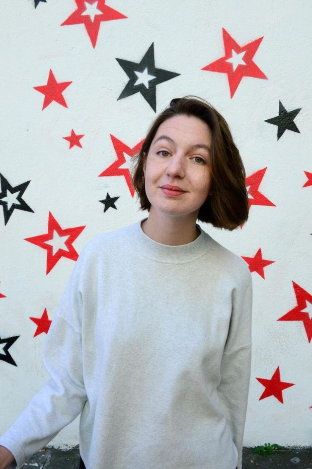 "Reluctant star: Sally Rooney. ""There's a huge amount of snobbery about reading."" Photograph: Cyril Byrne"