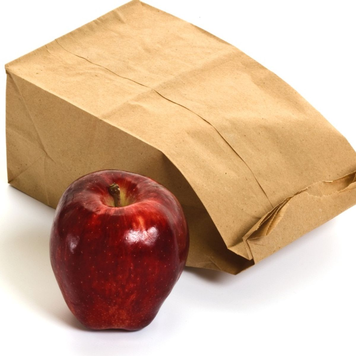 Brown paper lunch bags marked me as a New Yorker, an outsider