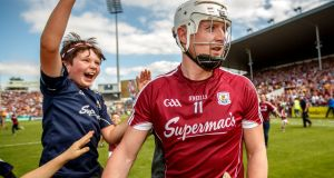"Joe Canning after the victory over Clare in Thurles. ""We had a lot of doubters outside our group, even in our home county. It's just great that we could quieten a few today.""  Photograph:  James Crombie/Inpho"