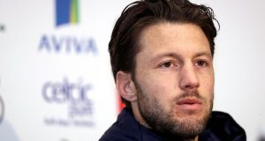 Harry Arter is in line to make his Cardiff City debut against Newcastle. Photograph: Oisín Keniry