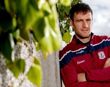 David Burke: Galway's captain will be aiming to bring all his considerable experience to bear against Limerick at Croke Park. Photograph: James Crombie/Inpho